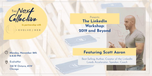 LinkedIn Workshop for 2019 and Beyond