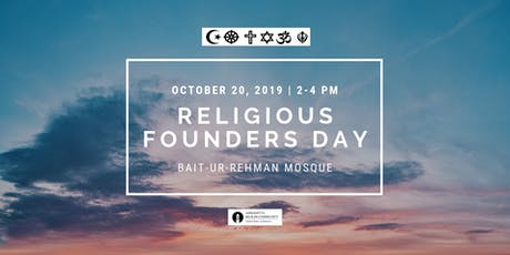 Religious Founders Day: Being a Good Neighbor - A Religious Duty tickets