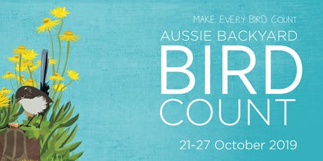 Enviro Collective CDU does the Aussie Backyard Bird Count tickets