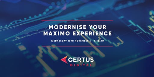 Modernise Your Maximo Experience