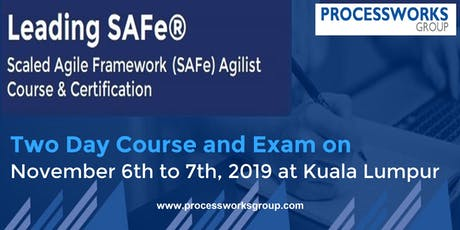 Leading SAFe® Course [2 Days Certification Course] tickets