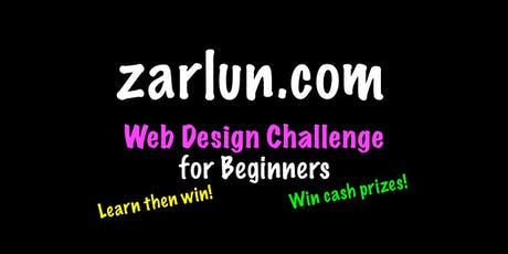Web Design Course and Challenge - Cash Prizes tickets