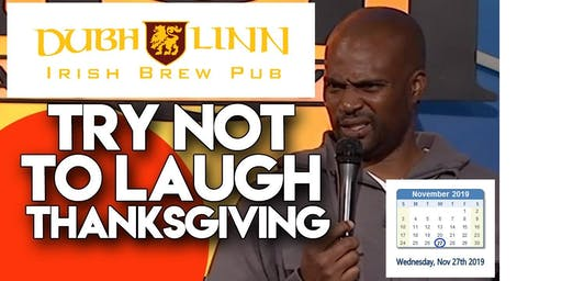 Copy of On the Eve of Thanksgiving Comedy Special!