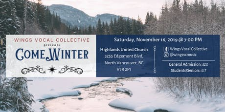 "WVC Presents: ""Come Winter"" tickets"