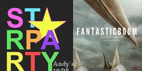 Starparty, Fantasticboom, Holy Death Trio, Bad Dad Jokes Halloween Bash @ Andy's Bar (Venue) tickets