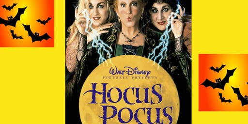 "Halloween Free Movie Night - ""Hocus Pocus"" - Games, Trick or Treat, Pizza"