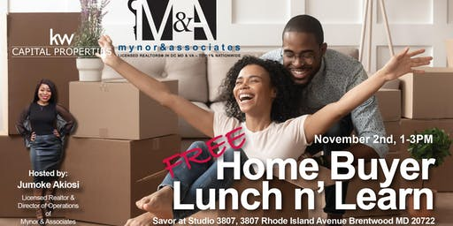 Free Home Buyer Lunch n' Learn (Seminar)