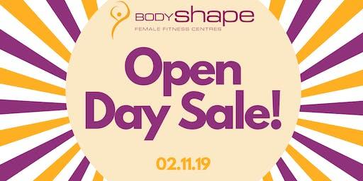 Body Shape Warringah Mall's HUGE OPEN DAY SALE!