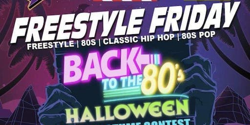 Freestyle Friday 80s Halloween Party