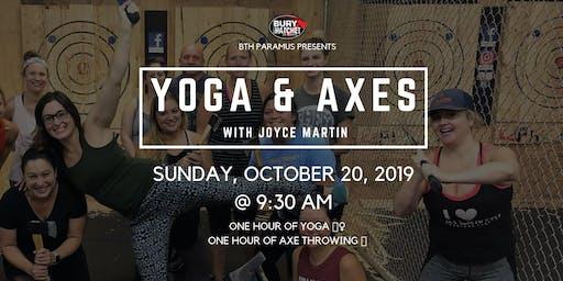 Yoga and Axes