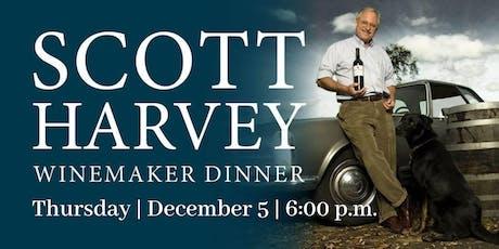 Scott Harvey Winemaker Dinner| Culinary Dinner Theater tickets