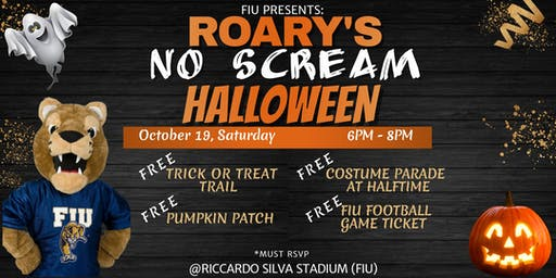 Roary's No Scream Halloween