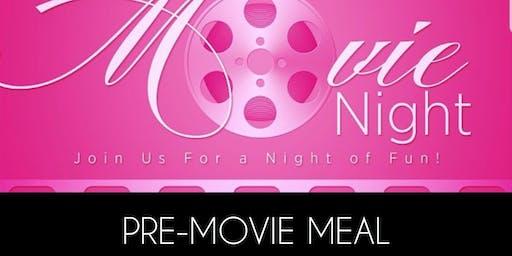 Ladies Movie Night Meal