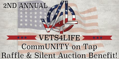 Vets4Life CommUNITY on Tap Raffle & Silent Auction Benefit! tickets