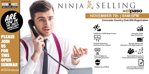 Home Pros Real Estate Group brings you Ninja Selling & Business Planning!