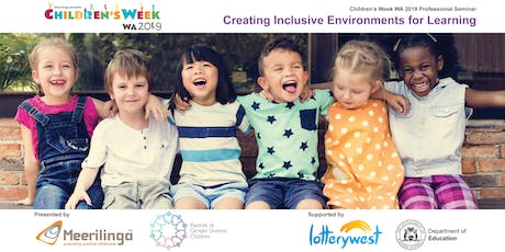 Creating Inclusive Environments for Learning: Free Children's Week Seminar tickets