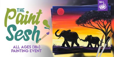 Painting Event t in Claremont, CA - Elephants (18+)