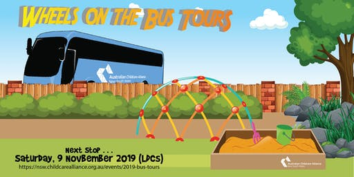 Wheels on the Bus Tour - Saturday, 9 November 2019