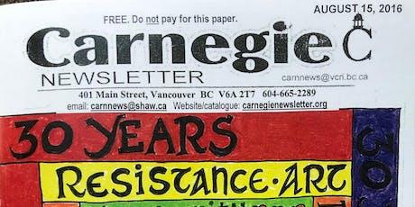Carnegie Newsletter Benefit Concert tickets