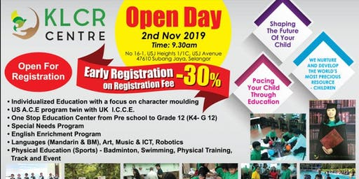 KLCRC LEARNING CENTRE OPEN DAY