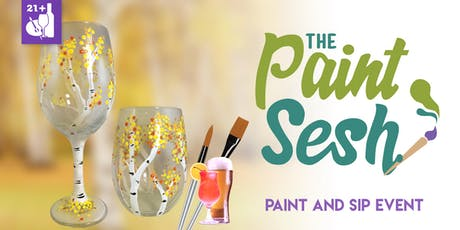 """Paint and Sip in Riverside, CA - """"Birch Trees"""" tickets"""
