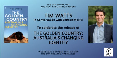 Tim Watts In Conversation with Shireen Morris tickets