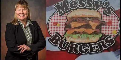Get Your Tickets! - Fundraiser at Messy's Burgers