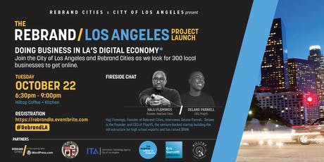 Rebrand Los Angeles Project Launch tickets