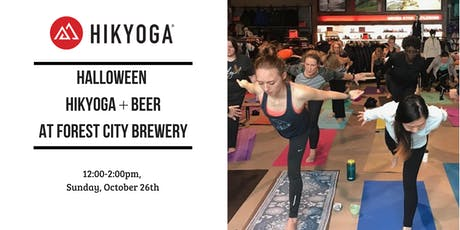 Halloween Hikyoga + Beer at Forest City Brewery with Alison tickets