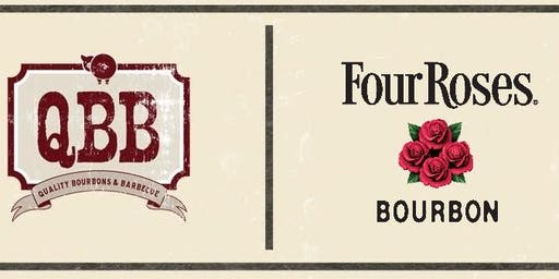 BBQ Dinner with Four Roses Bourbon @ QBB