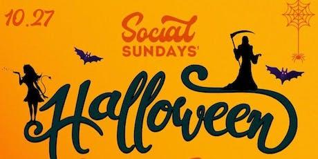 Social Sunday's Halloween Costume Party @ Love + Propaganda tickets