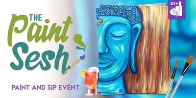 "Paint Night in Downtown Riverside, CA – ""Happy Buddha"""