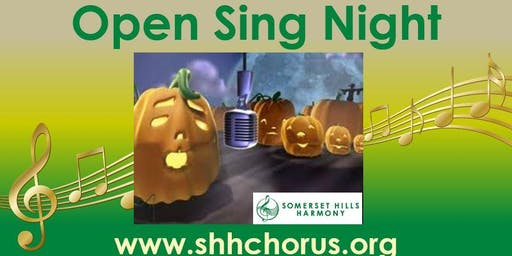 Fall Into A Cappella - Open Sing Night with Somerset Hills Harmony