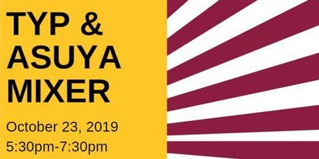 TYP October Mixer at Ted's Refreshments with ASUYA tickets