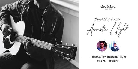Live At The Hive: Daryl & Arizton's Friday Acoustic Night tickets