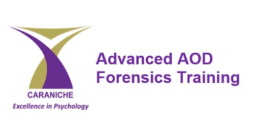 Advanced AOD Forensics Training (1 day)