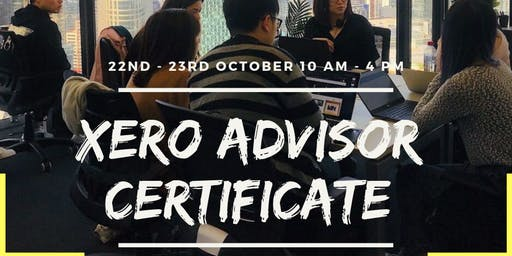 Become a XERO Certified Advisor in TWO DAYS!