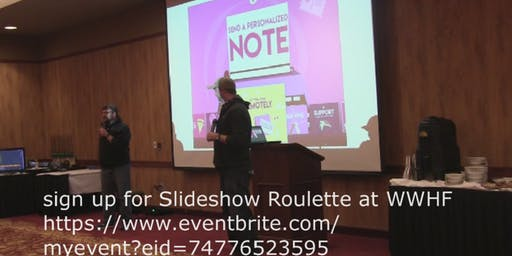 Slideshow Roulette at WWHF