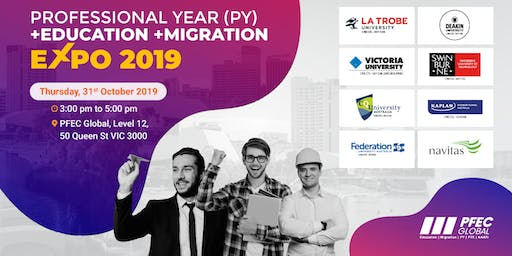 Profession Year, Migration & Education Expo (Melbourne)