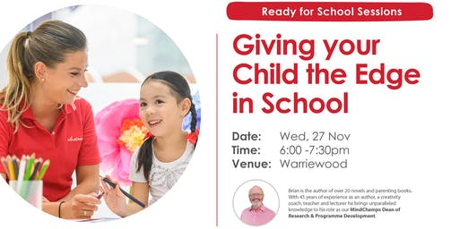 Giving your Child the Edge in School - MindChamps Warriewood