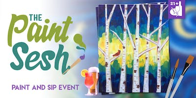 Paint Night in Downtown Riverside, CA - Just Birchy