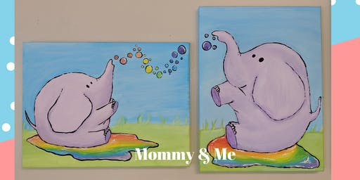 Mommy & Me Elephant Paint Party