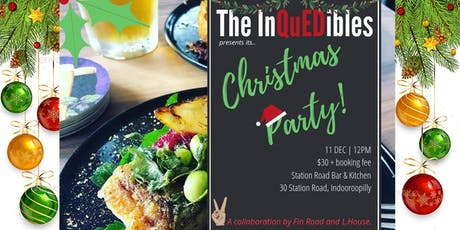 QuEDS Christmas party tickets