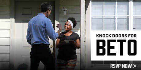 CANVASS FOR BETO O'ROURKE | FORT WORTH tickets