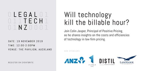LegalTechNZ - Will technology kill the billable hour? tickets