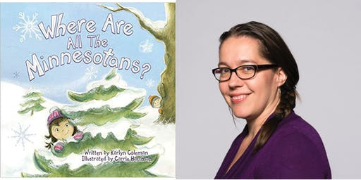 Carrie Hartman, Illustrator, Where Are All the Minnesotans?
