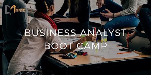 Business Analyst 4 Days Virtual Live Bootcamp  in Utrecht
