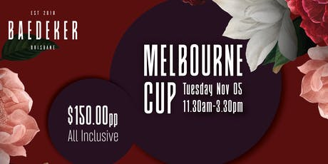 Melbourne Cup @ Baedeker tickets