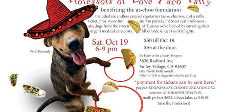 Professors of Love Taco Party tickets