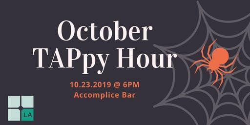 October West LA TAPpy Hour at Accomplice Bar!